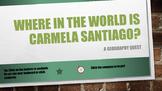 Where in the World is Carmela Santiago?  Adventure Three