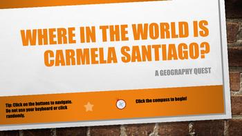 Where in the World is Carmela Santiago? BUNDLE #1