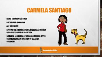 Where in the World is Carmela Santiago?  Halloween Edition
