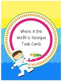 Where in the World is Georgia Located? task cards