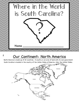 Where in the World is South Carolina?