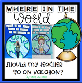 My Teacher Needs a Vacation! An Opinion Writing Craftivity