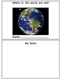 Where in the world are we? Social Studies Lesson