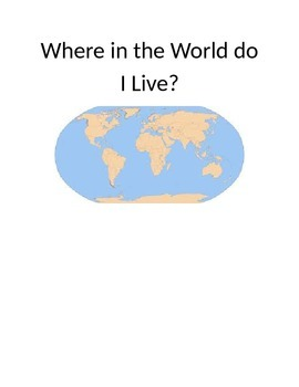 Where in the world do I live?