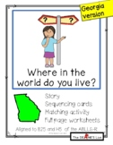 Where in the world do you live? (Georgia version)