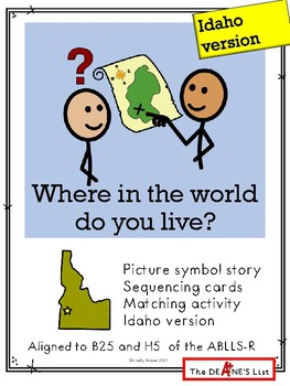 Where in the world do you live? Idaho version