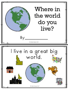 Where in the world do you live? Idaho version with SymbolStix