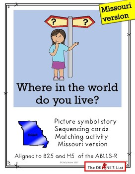 Where in the world do you live? Missouri version