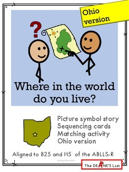 Where in the world do you live? Ohio version