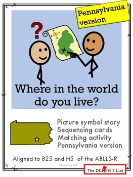 Where in the world do you live? Pennsylvania version