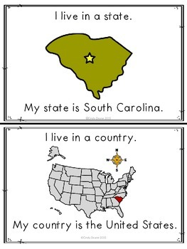 Where in the world do you live?  South Carolina version