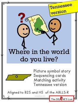 Where in the world do you live? Tennessee version