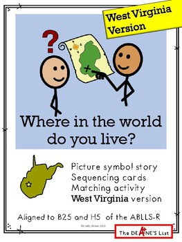 Where in the world do you live? (West Virginia version)