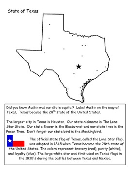 Where in the world...Texas map skills