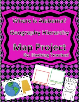 Where is Alabama Geographic Hierarchy Map