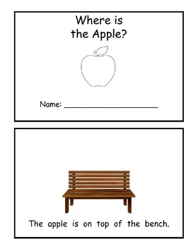 Where is Apple? (Book of Prepositions)