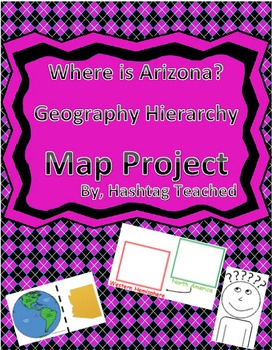 Where is Arizona Geographic Hierarchy Map
