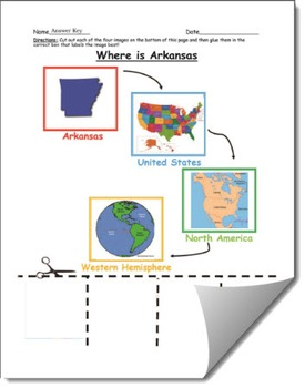 Where is Arkansas Geographic Hierarchy Map