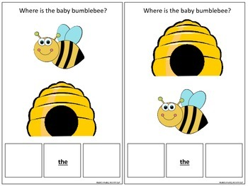 Where is Bumble Bee Directional Concepts Interactive Book