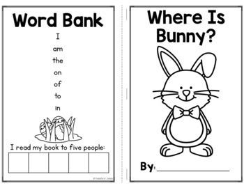 Bunny Emergent Reader