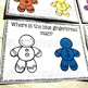 Free Gingerbread Man Task Cards Colour Recognition Color Recognition
