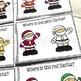 Free Santa Colour Recognition Color Recognition Task Cards