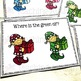 Free Christmas Elf Color Recognition Task Cards