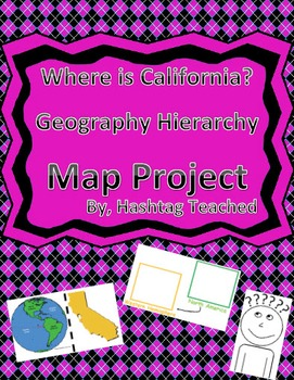 Where is California Geographic Hierarchy Map