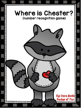 Where is Chester? (0-20 number recognition game)