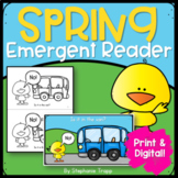 Spring Emergent Reader Print and Digital