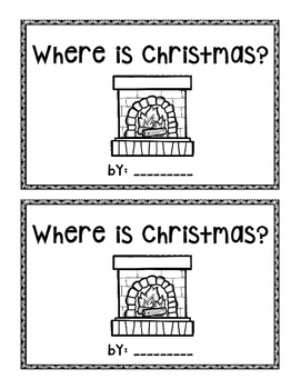 Where is Christmas?  emergent reader