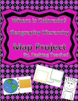 Where is Colorado Geographic Hierarchy Map