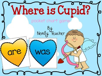 Where is Cupid? (pocket chart game)