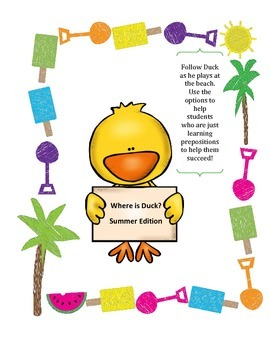 Where is Duck? Practice with Prepositions Summer Edition