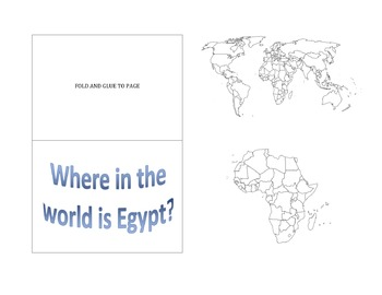 Where is Egypt? Map