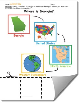 Where is Georgia Geographic Hierarchy Map