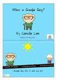 Where is Grandpa Gary? A short story printable book with p