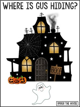 Where is Gus the Ghost? Halloween Prepositions