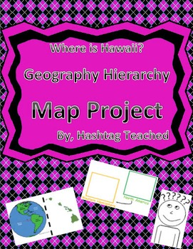 Where is Hawaii Geographic Hierarchy Map