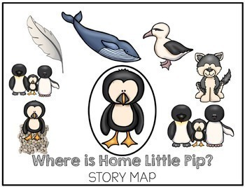 Speech Language and Literacy:  Where is Home Little Pip Book Companion