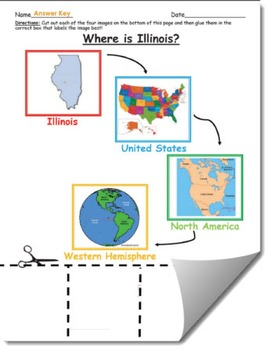 Where is Illinois Geographic Hierarchy Map