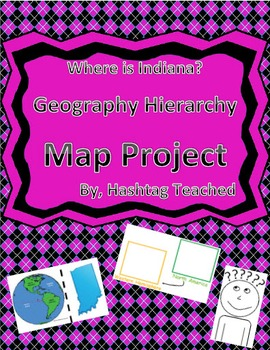 Where is Indiana Geographic Hierarchy Map