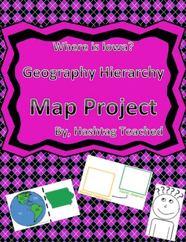 Where is Iowa Geographic Hierarchy Map