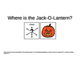 Where is Jack-O-Lantern (positional words) Adapted book
