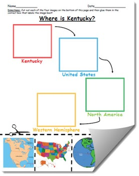 Where is Kentucky Geographic Hierarchy Map