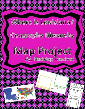 Where is Louisiana Geography Hierarchy Map