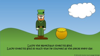 Where is Lucky's Gold? - A Leprechaun Story