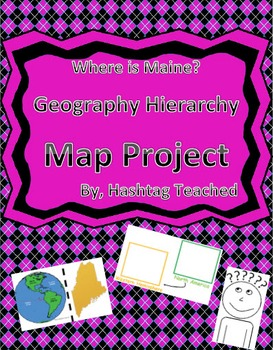 Where is Maine Geographic Hierarchy Map