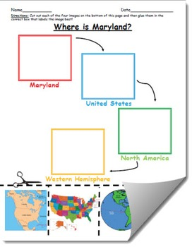 Where is Maryland Geographic Hierarchy Map