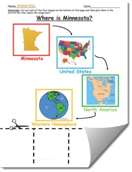 Where is Minnesota Geographic Hierarchy Map